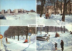 AK / Ansichtskarte Vaasa Teilansicht Schloss Allee  Kat. Vaasa