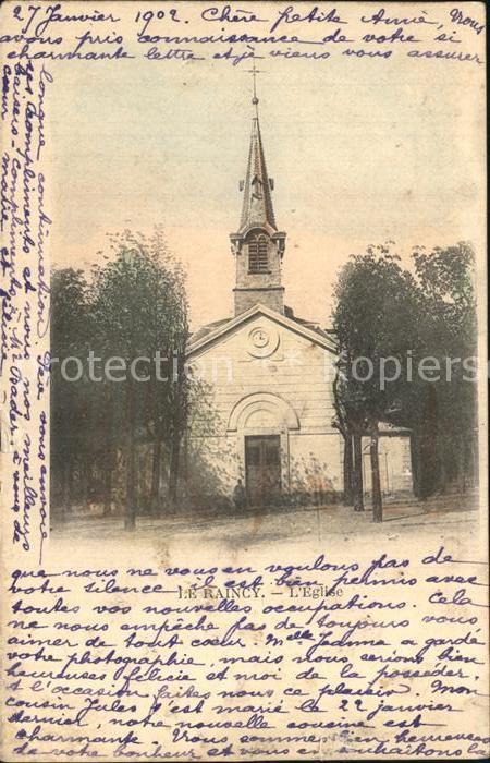 AK / Ansichtskarte Le Raincy Eglise Kirche Kat. Le Raincy