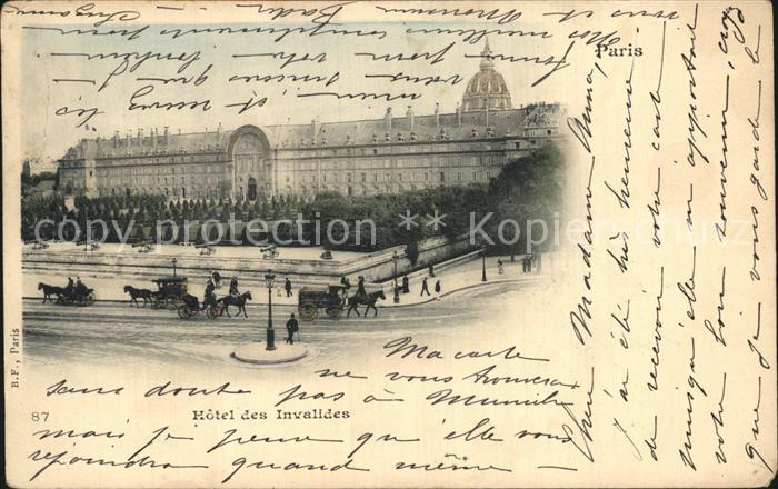 AK / Ansichtskarte Paris Hotel des Invalides Kat. Paris