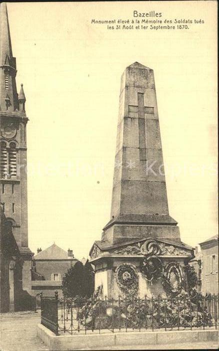 AK / Ansichtskarte Bazeilles Monument aux Morts Kriegerdenkmal Kat. Bazeilles