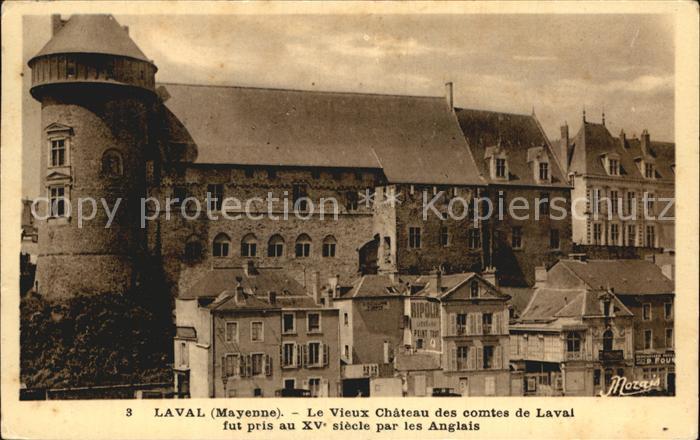 AK / Ansichtskarte Laval Mayenne Vieux Chateau Kat. Laval