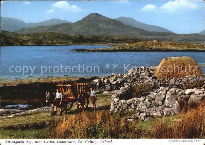 AK / Ansichtskarte Galway Galway Bertraghboy Bay near Carna area Connemara Island Kat. Galway