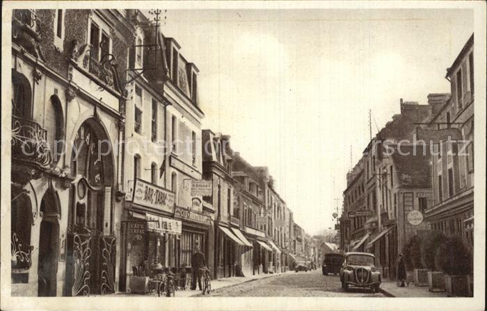 AK / Ansichtskarte La Delivrande La Grande Rue Kat. Douvres la Delivrande