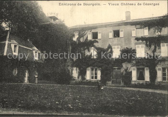 AK / Ansichtskarte Bourgoin Jallieu Vieux Chateau de Cesarges Kat. Bourgoin Jallieu