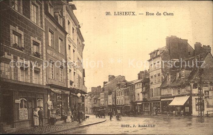AK / Ansichtskarte Lisieux Rue de Caen Kat. Lisieux