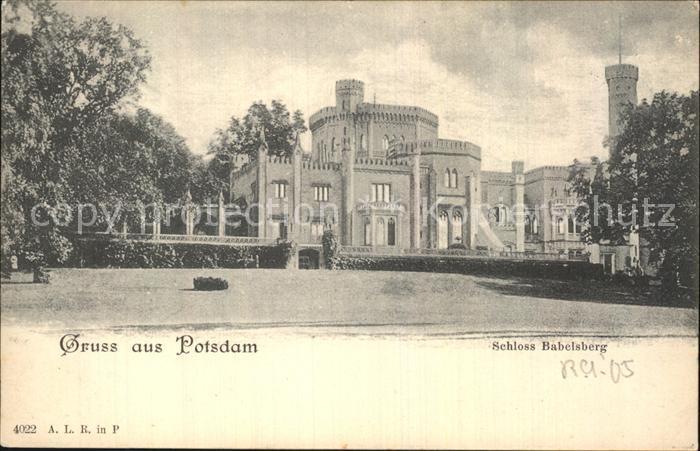 AK / Ansichtskarte Potsdam Babelsberg Kat. Potsdam