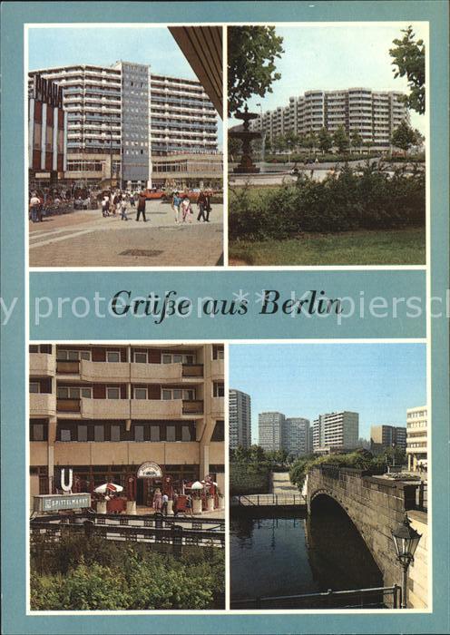 AK / Ansichtskarte Berlin Leipziger Strasse Spittelmarkt Biergarten Gertraudenbruecke Kat. Berlin