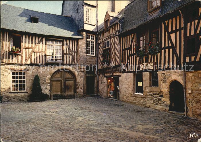 AK / Ansichtskarte Rennes Vieilles maisons Rue de la Psalette XVII siecle Kat. Rennes