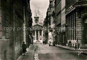 AK / Ansichtskarte Paris Rue Laffitte Eglise Notre Dame Sacre Coeur Kat. Paris