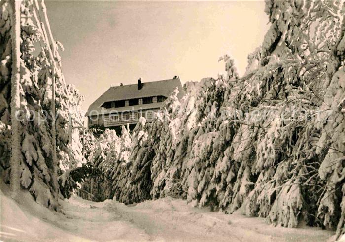AK / Ansichtskarte Zittau Die Hochwaldbaude im Zittauer Gebirge Kat. Zittau