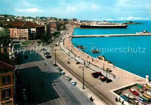 AK / Ansichtskarte Trieste Molo Audace e Riva Tre Novembre Kat. Trieste
