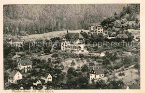AK / Ansichtskarte Liebenzell Bad Missionshaus Villa Lioba Kat. Bad Liebenzell
