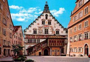 AK / Ansichtskarte Lindau Bodensee Historisches Rathaus 15. Jhdt. bodan Karte Kat. Lindau (Bodensee)