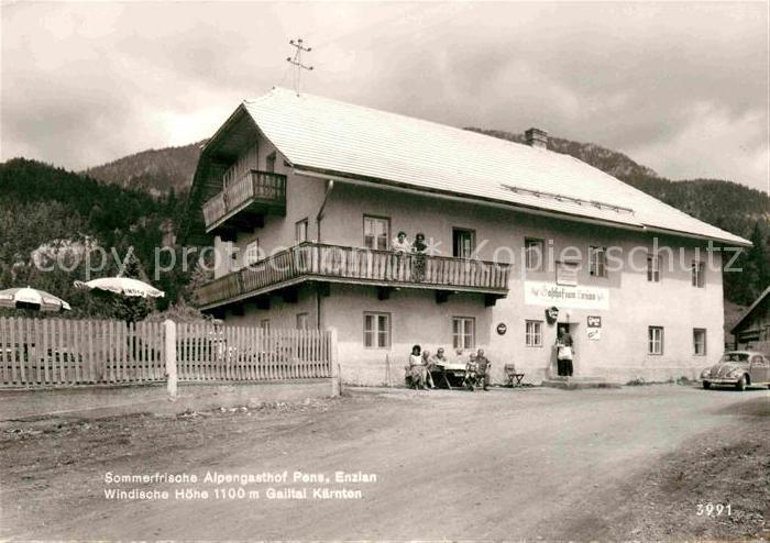 AK / Ansichtskarte Gailtal Alpengasthof zum Enzian
