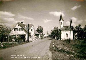 AK / Ansichtskarte St Peter Ottersbach Wiersdorf Kat. Radkersburg Umgebung