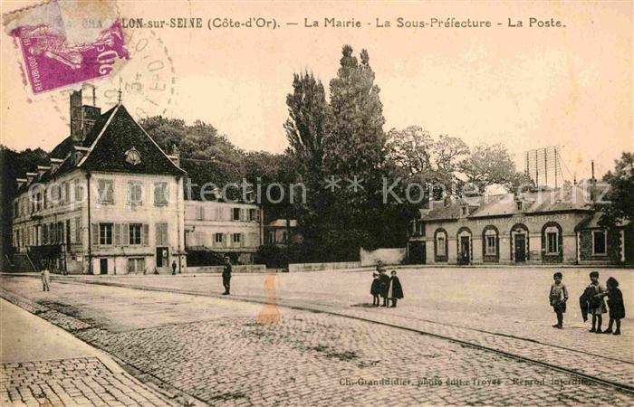 AK / Ansichtskarte Chatillon sur Seine Mairie La Sous Prefecture Poste Kat. Chatillon sur Seine