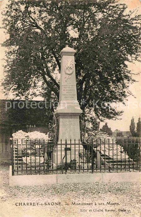 AK / Ansichtskarte Charrey sur Saone Monument ses Morts  Kat. Charrey sur Saone