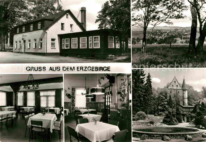 AK / Ansichtskarte Elterlein Gaststaette Finkenburg  Kat. Elterlein