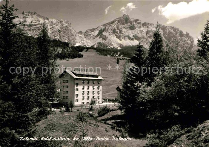 AK / Ansichtskarte Bozen Suedtirol Hotel Astoria Kat. Bozen Suedtirol