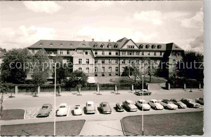 AK / Ansichtskarte Villingen Schwenningen Hotel Fachschule Kat. Villingen Schwenningen