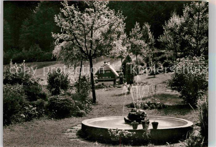 AK / Ansichtskarte Marxzell Waldhotel Bergschmiede Kat. Marxzell