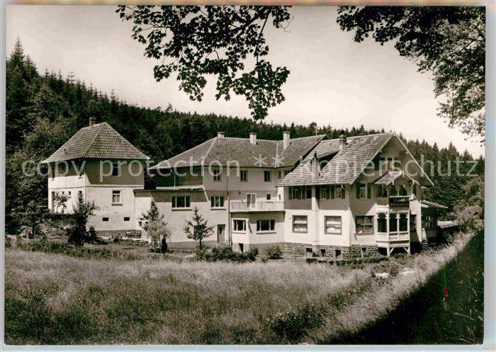 AK / Ansichtskarte Marxzell Waldhotel Bergschmiede Kat. Marxzell 0