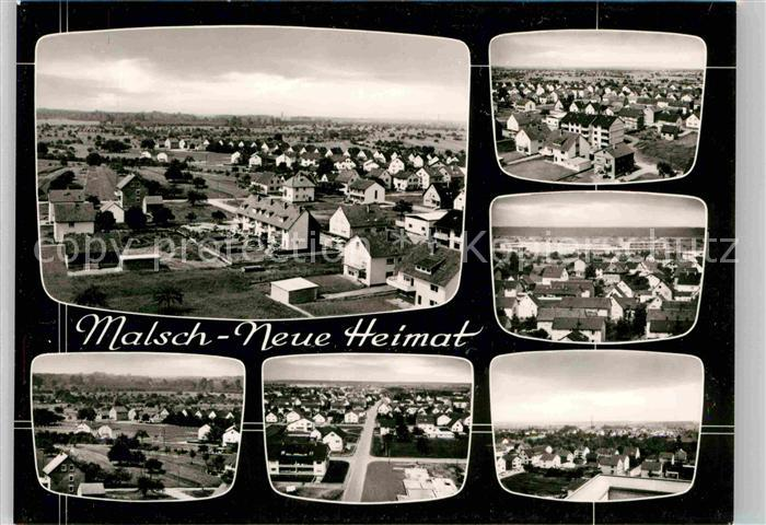 AK / Ansichtskarte Malsch Karlsruhe Neue Heimat Panoramen Kat. Malsch 0