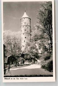 AK / Ansichtskarte Biberach Riss Weisser Turm Kat. Biberach an der Riss