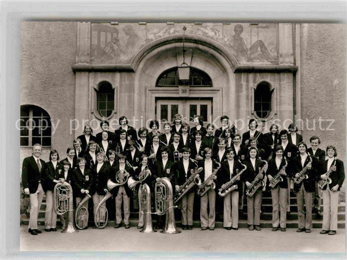 AK / Ansichtskarte Tuebingen Blasorchester des Kepler Gymnasiums 1975 Kat. Tuebingen