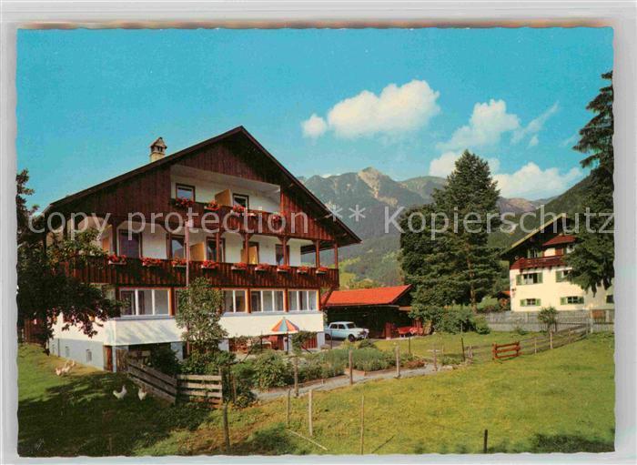 AK / Ansichtskarte Oberstdorf Fremdenheim Fideliushaus Kat. Oberstdorf