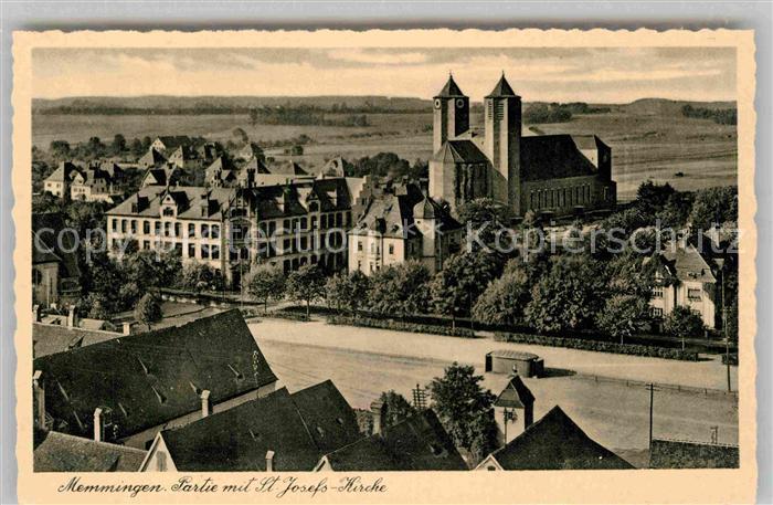 AK / Ansichtskarte Memmingen Sankt Martins Kirche Kat. Memmingen