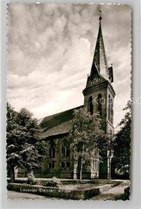AK / Ansichtskarte Lauenau Kirche Kat. Lauenau