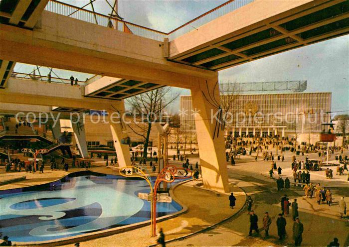 AK / Ansichtskarte Bruxelles Bruessel Exposition Universelle de Bruxelles 1958 Kat.