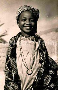 AK / Ansichtskarte Tchad Tschad La petite fille du Sultan de Binder