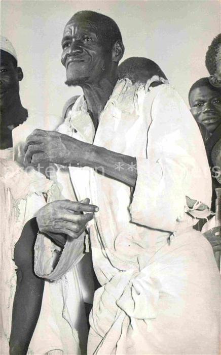 Burkina Faso Obervolta Vieil homme Scenes et types