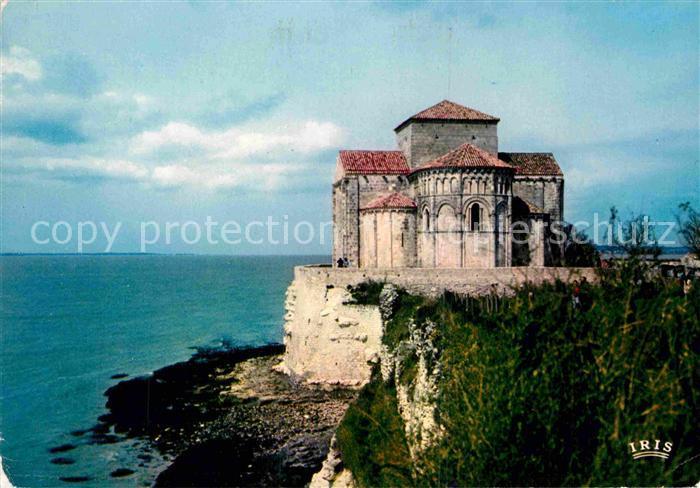 AK / Ansichtskarte Talmont sur Gironde Aunis et Saintonge Romane Eglise Romane Kat. Talmont sur Gironde