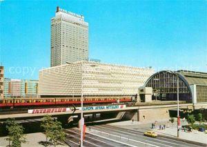 AK / Ansichtskarte Berlin S Bahnhof Alexanderplatz Hotel Stadt Berlin Hauptstadt der DDR Kat. Berlin