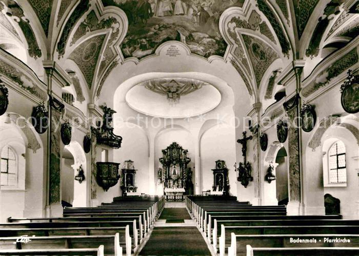 AK / Ansichtskarte Bodenmais Pfarrkirche Innenansicht Kat. Bodenmais