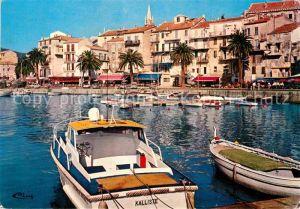 AK / Ansichtskarte Calvi Port de plaisance et le quai Landry Kat. Calvi