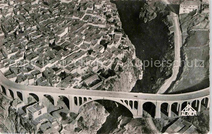 AK / Ansichtskarte Constantine Vue generale prise en avion Kat. Algerien