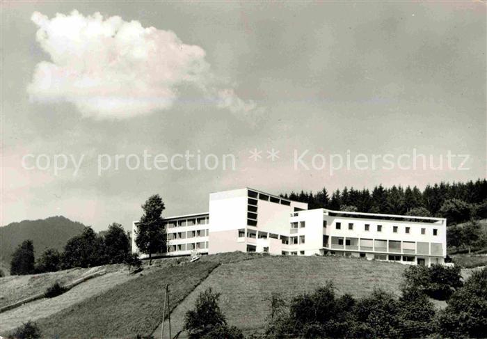 AK / Ansichtskarte Batschuns Bildungshaus Pius XII Kat. Oesterreich