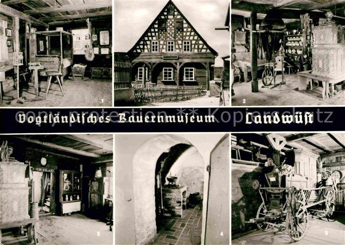 AK / Ansichtskarte Landwuest Vogtlaendisches Bauernmuseum Kat. Markneukirchen