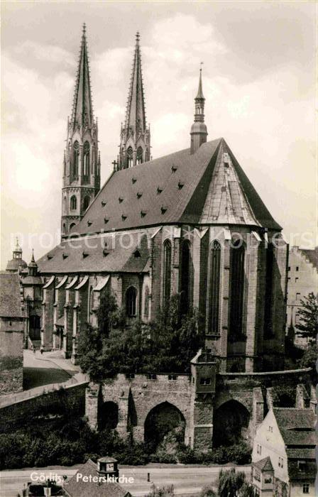 AK / Ansichtskarte Goerlitz Sachsen Peterskirche Kat. Goerlitz