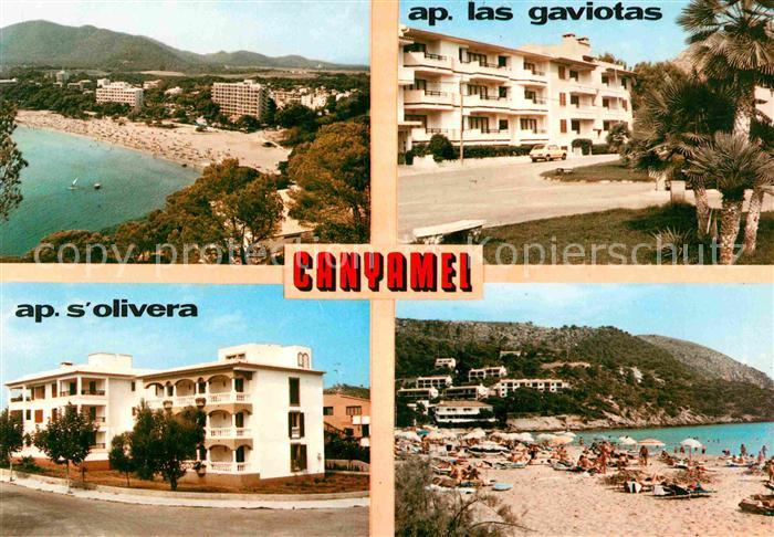 AK / Ansichtskarte Canyamel Hotel Strand Bucht Kat. Mallorca