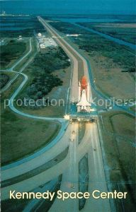 AK / Ansichtskarte Raumfahrt Kennedy Space Center Florida Space Shuttle  Kat. Flug