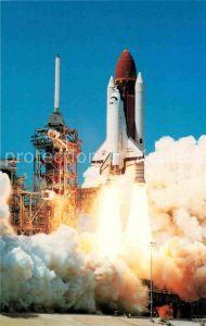 AK / Ansichtskarte Raumfahrt John F. Kennedy Space Center Space Shuttle NASA  Kat. Flug