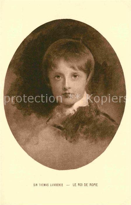 AK / Ansichtskarte Napoleon Bonaparte Roi de Rome Kuenstlerkarte Thomas Lawrence  Kat. Persoenlichkeiten
