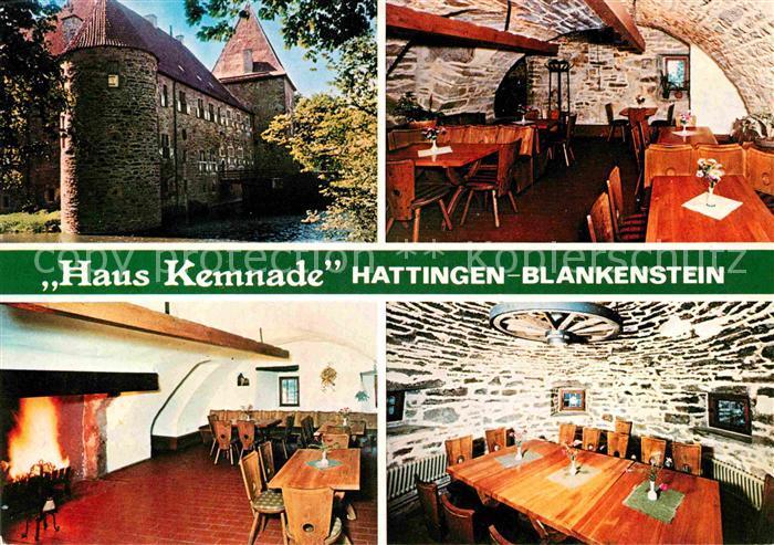 AK / Ansichtskarte Blankenstein Ruhr Haus Kemmade Kat. Hattingen
