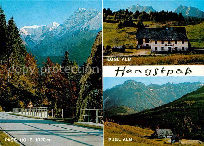 AK / Ansichtskarte Rosenau Hengstpass Passhoehe Eggl Alm Pugl Alm Kat. Rosenau am Hengstpass