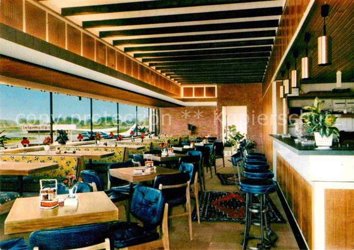 Ak Ansichtskarte Ganderkesee Airfield Restaurant Am Flugplatz Kat Ganderkesee